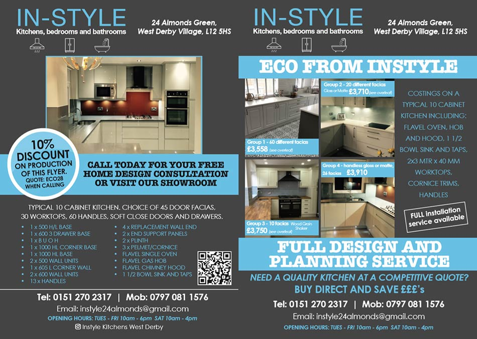 Offers Instyle Kitchens West Derby Village Liverpool Kitchen
